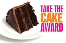 Take The Cake Award